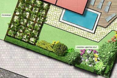 Идеен проект на зелени площи