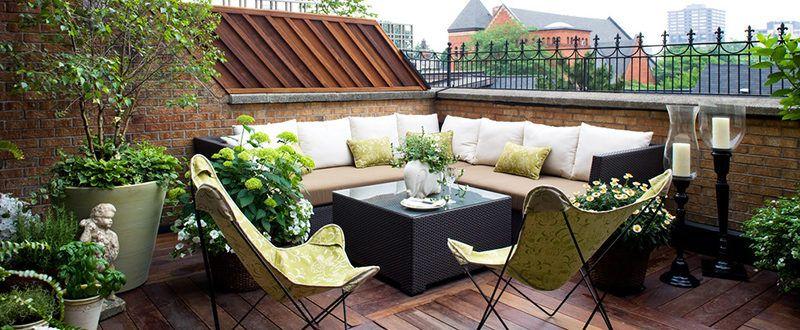 Озеленяване на балкон и тераса